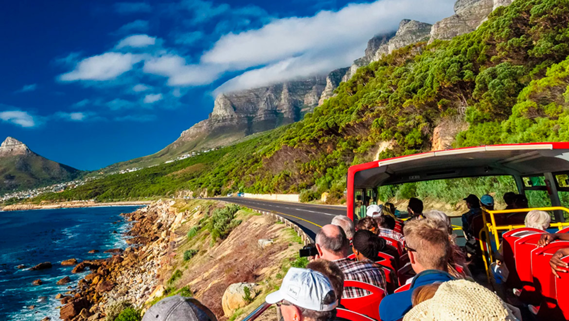 City Sightseeing buses in Cape Town