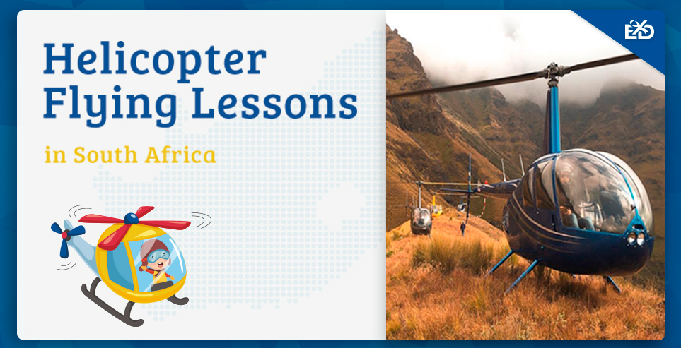 Helicopter Flying Lessons in South Africa