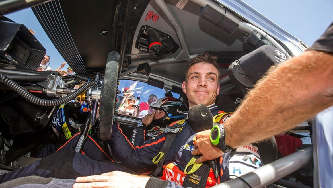 Hyundai star Hayden Paddon started at his local car club