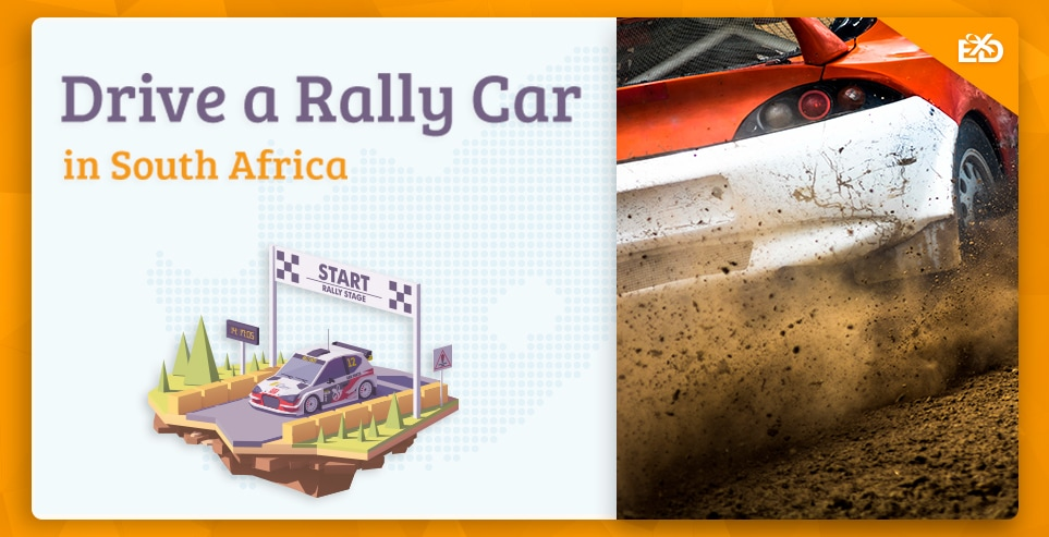 Drive a Rally Car in South Africa