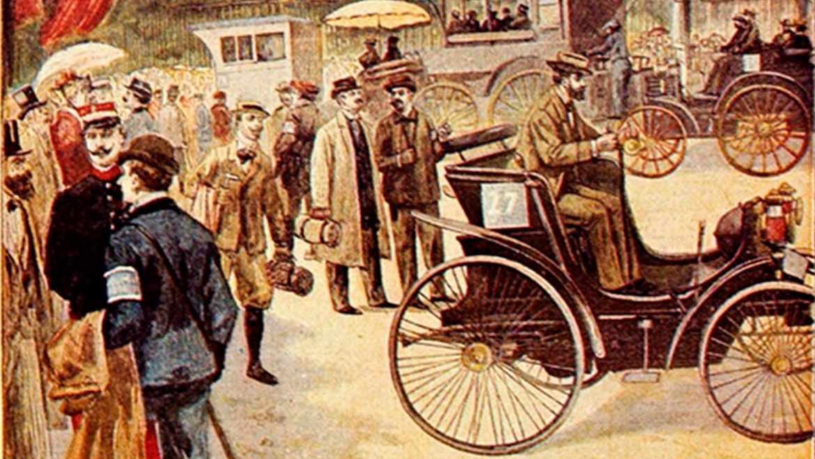 World's First Automotive Competition Held, 120 Years Ago