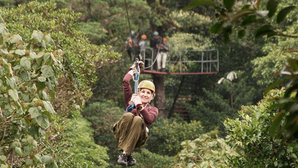 The tale of ziplining in Costa Rica