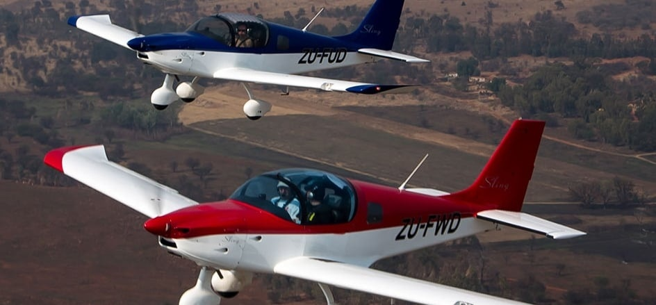 1 Hour Sling Light Aircraft Flying Lesson in Johannesburg-1