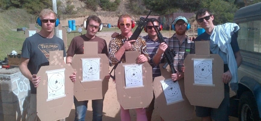 2 Gun Shooting Experience in Simon's Town - Mini-12