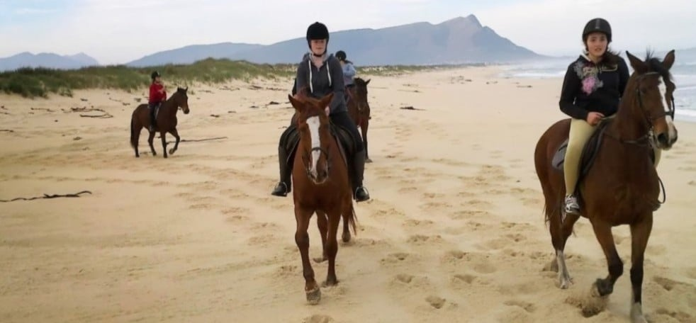 Beach Horse Riding Experience With Breakfast in Kleinmond-1