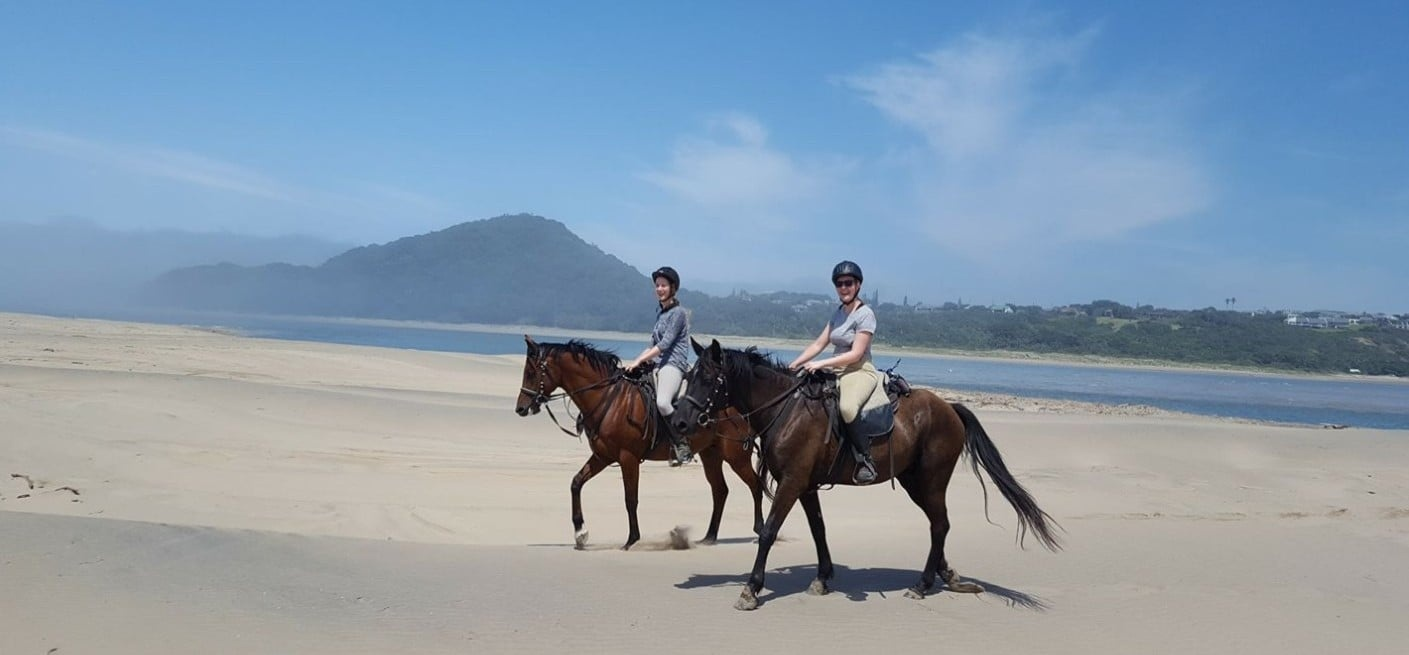 Beginners Beach Horse Riding in East London-3