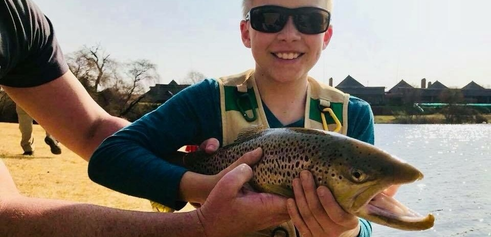 Children's Introductory Fly Fishing Lesson in Gauteng-1