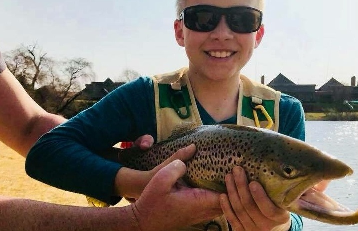 Brown Trout Fly Fishing Experience for Kids and Children.JPG