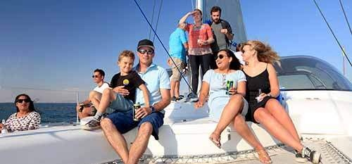 Catamaran Cruise and 3 Course Lunch in Cape Town-2