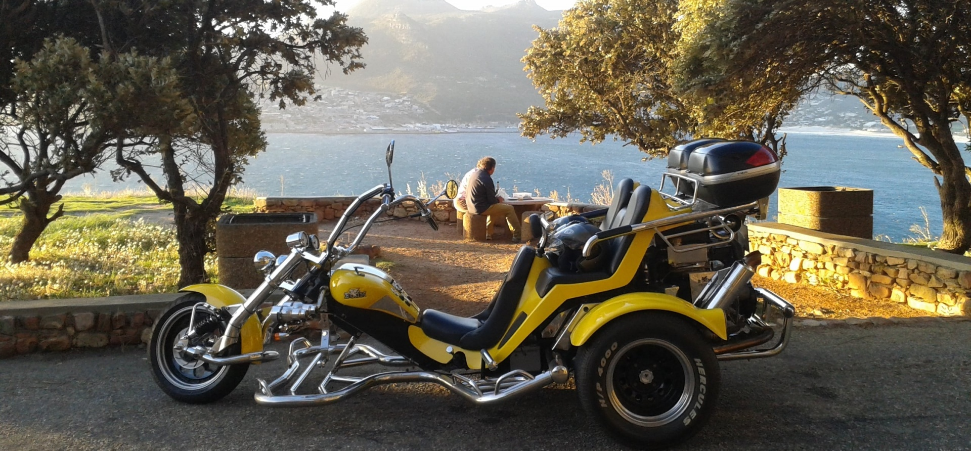 Chapmans Peak Sunset Trike Tour For Two-1