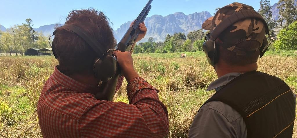 Clay Pigeon Shooting Experience in Stellenbosch-1