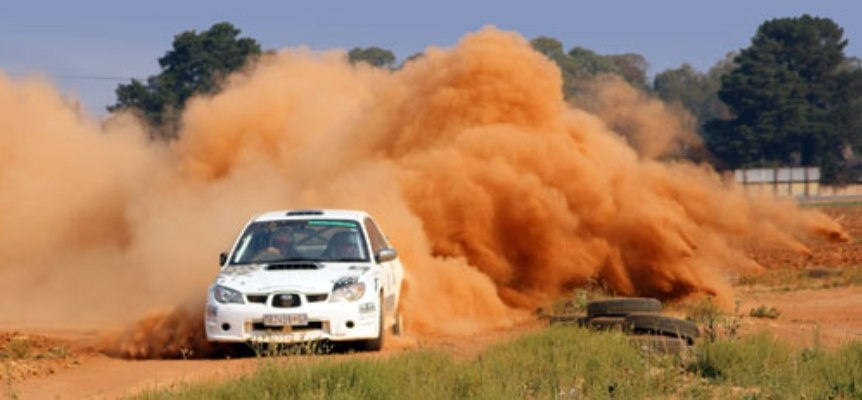 Rally Hotseat Passenger Experience in Pretoria-4
