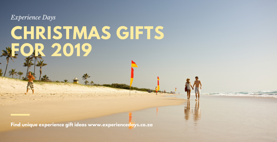 Unique Experience Gifts For Christmas 2019 - From R200