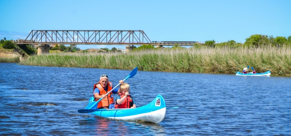 Sundays River Canoe Tour for 2-5