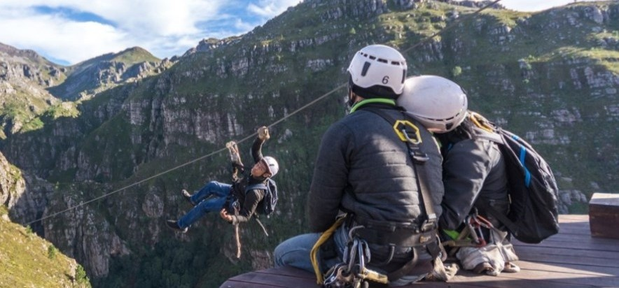 Half Day Canopy Zipline Tour in Elgin, Western Cape-2