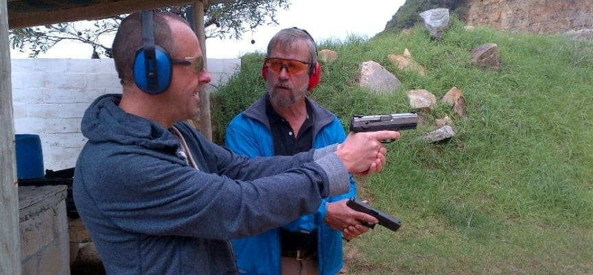 2 Gun Shooting Experience in Simon's Town - Mini-8