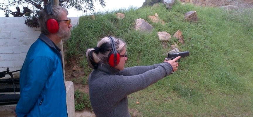 2 Gun Shooting Experience in Simon's Town - Mini-9