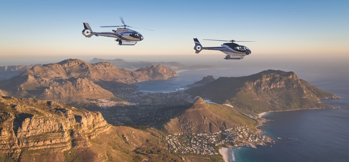 Exclusive Helicopter Tour and Shark Dive in Cape Town-2