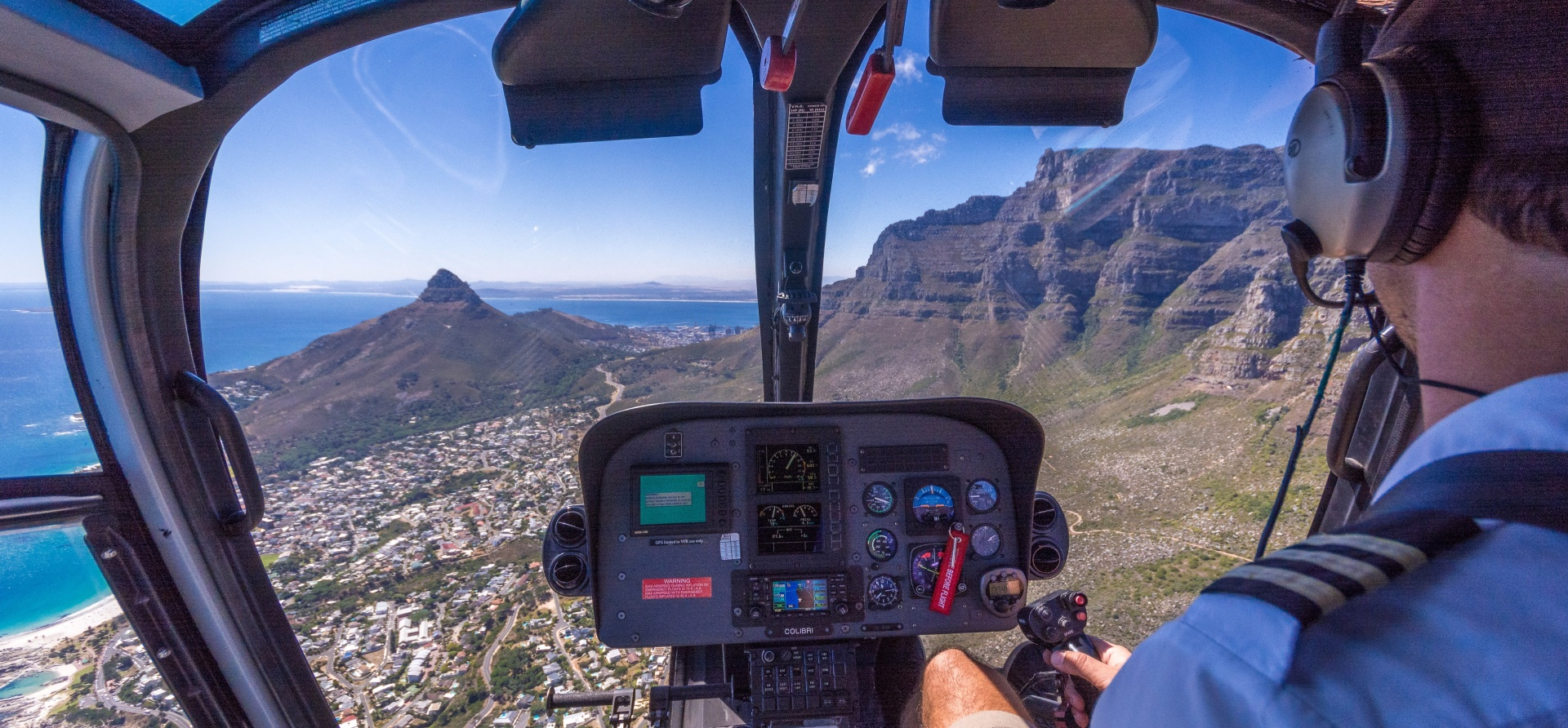 Private Helicopter Tour and Winelands Lunch in Cape Town-5