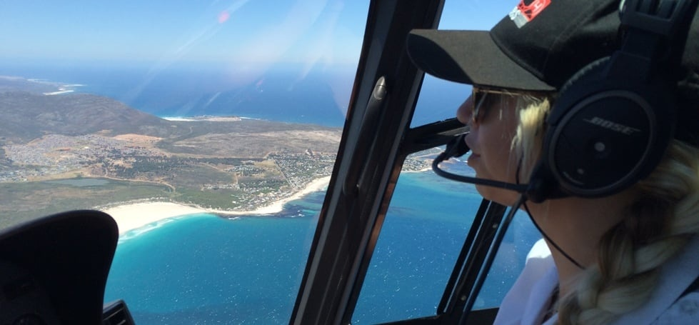 Private Helicopter Tour and Winelands Lunch in Cape Town-2