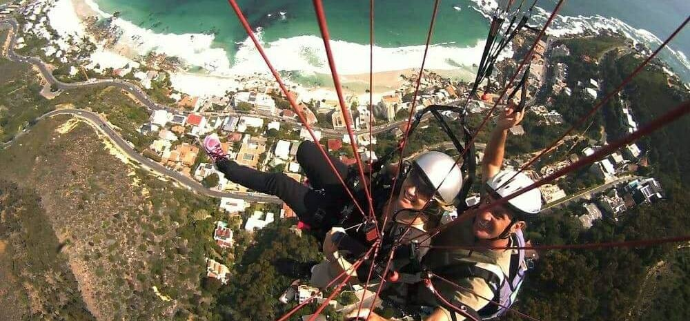Lion's Head or Signal Hill Tandem Paragliding Flight-2
