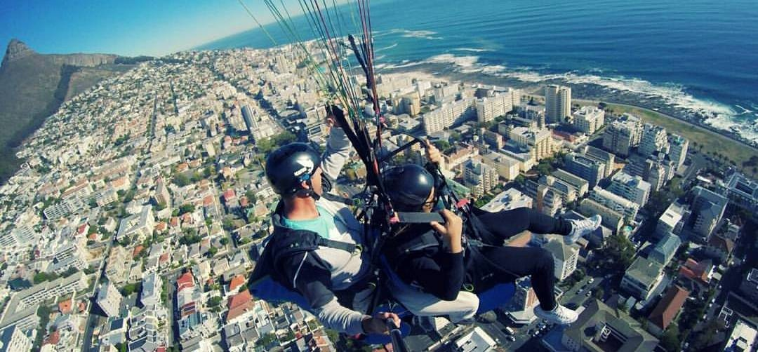 Lion's Head or Signal Hill Tandem Paragliding Flight-1