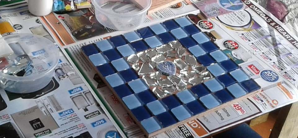2 Hour Mosaic Workshop For Two in Cape Town-4