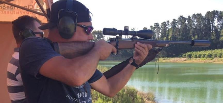 Sniper Rifle and AR-15 Gong Shooting Experience in Somerset West-1