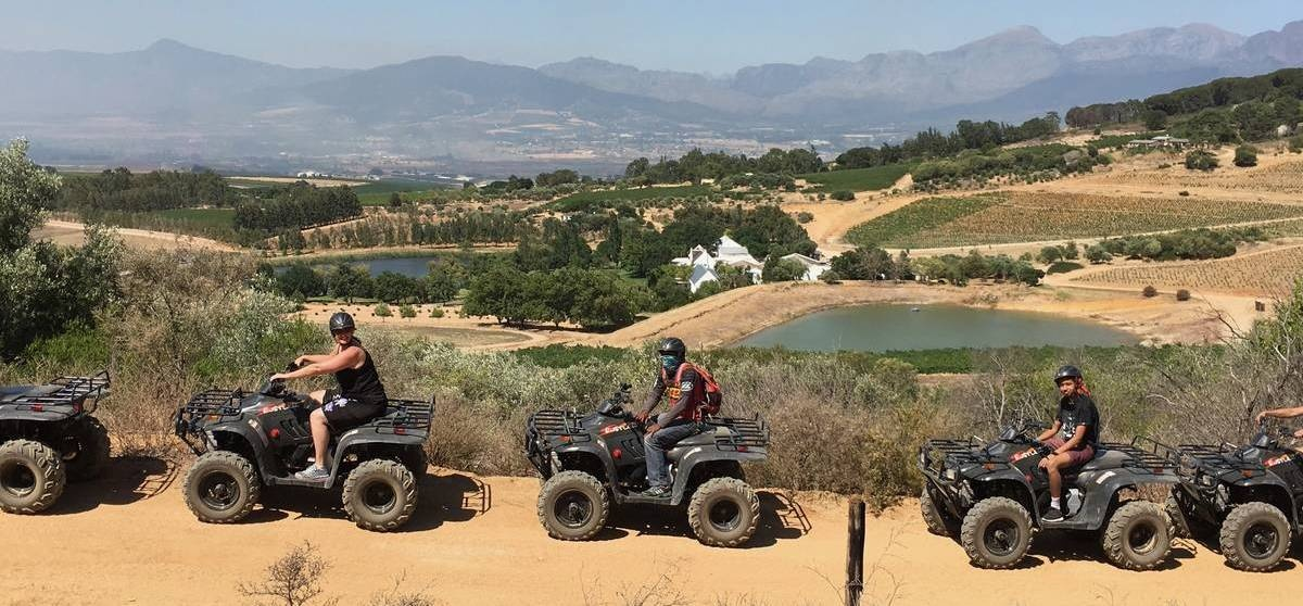 One Hour Quad Bike Nature Trail in Paarl-6