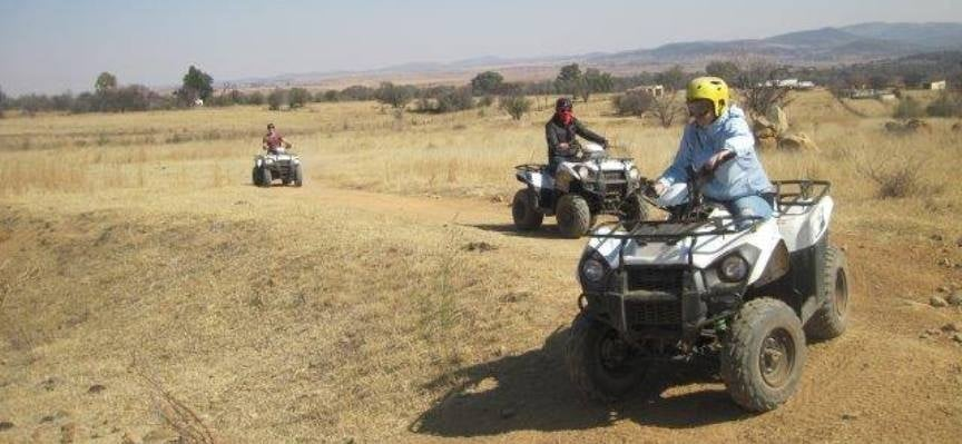 One Hour Quad Biking Experience in Parys-3