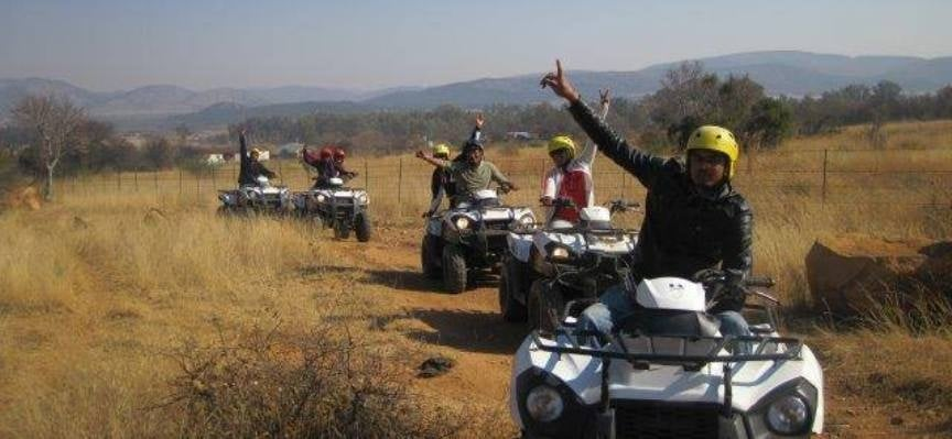 One Hour Quad Biking Experience in Parys-1
