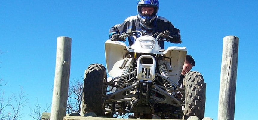 One Hour Quad Biking Experience in Parys-4