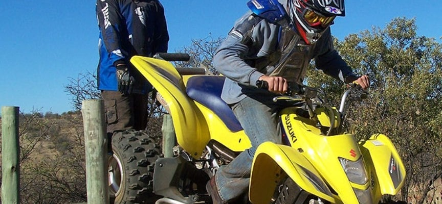 One Hour Quad Biking Experience in Parys-5