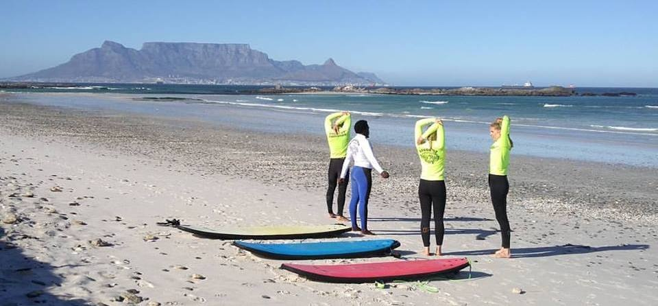 One Hour Surfing Lesson in Cape Town-4