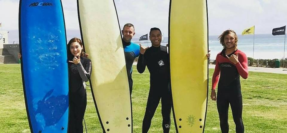 One Hour Surfing Lesson in Cape Town-5