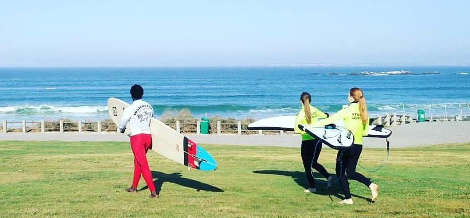 One Hour Surfing Lesson in Cape Town-2