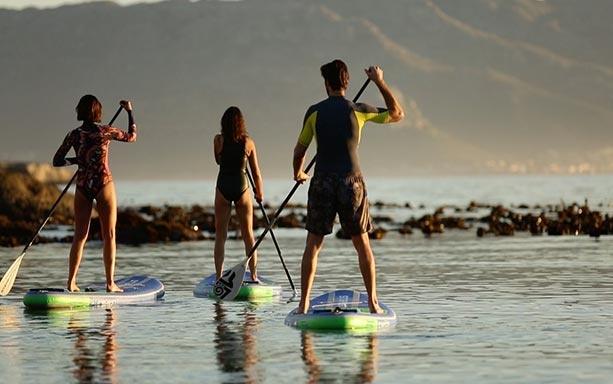 Stand Up Paddleboarding Lesson at V&A Waterfront-4