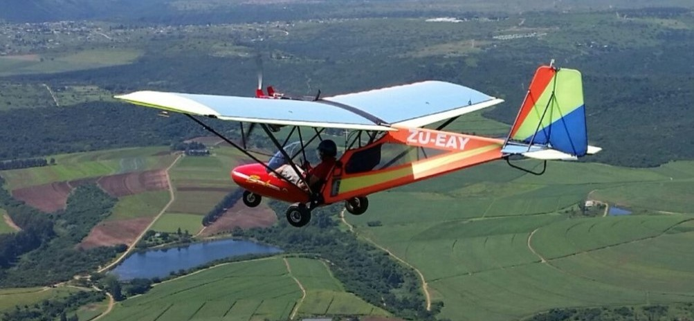One Hour Scenic Microlight Flight in Umkomaas-1