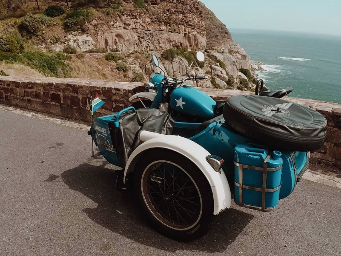 Full Day Motorbike Sidecar Tour in Cape Town-4