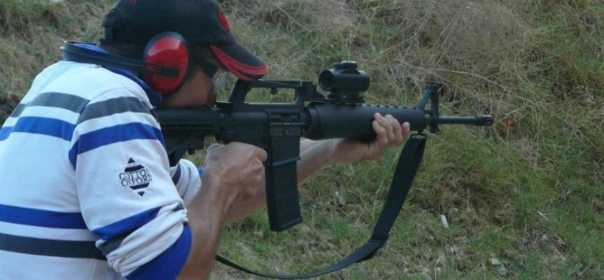 2 Gun Shooting Experience in Simon's Town - Mini-13
