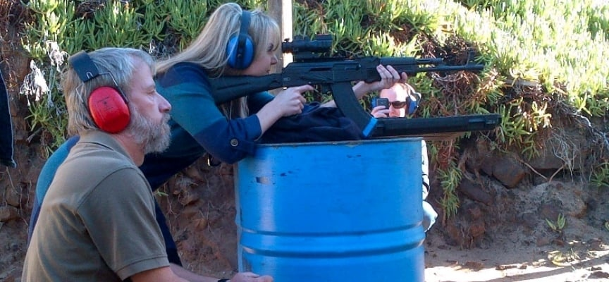 2 Gun Shooting Experience in Simon's Town - Mini-1