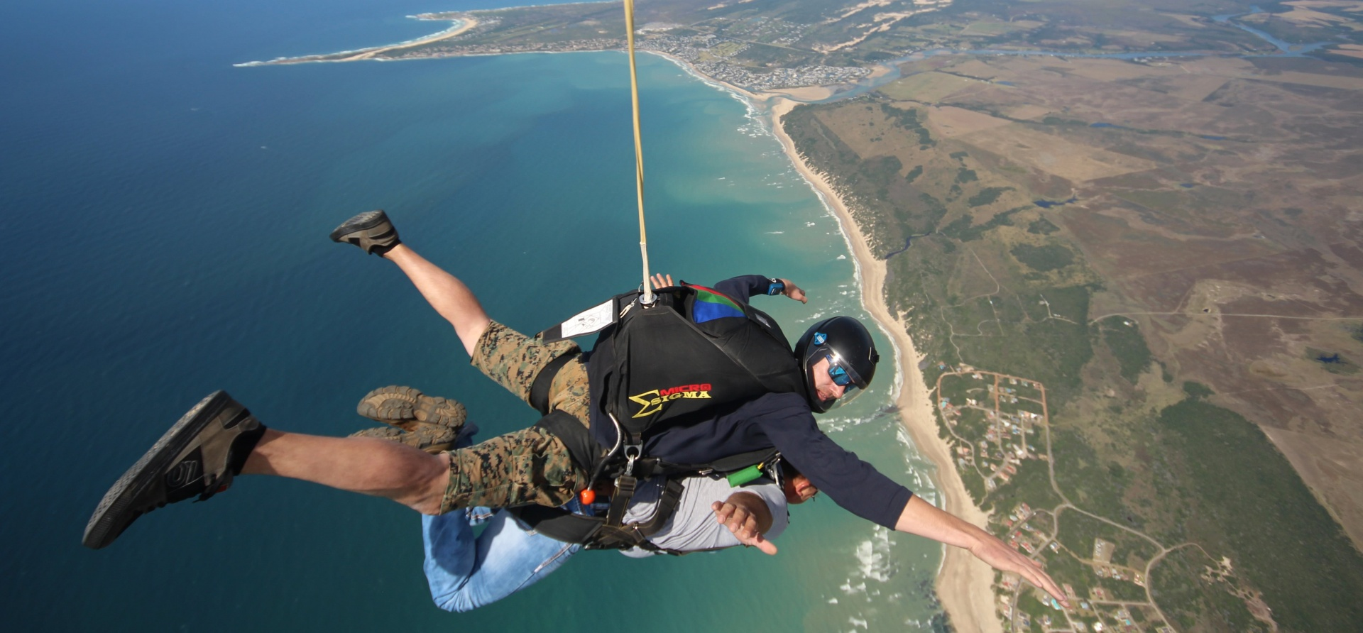 9,500ft Tandem Skydive in Jeffrey's Bay-2