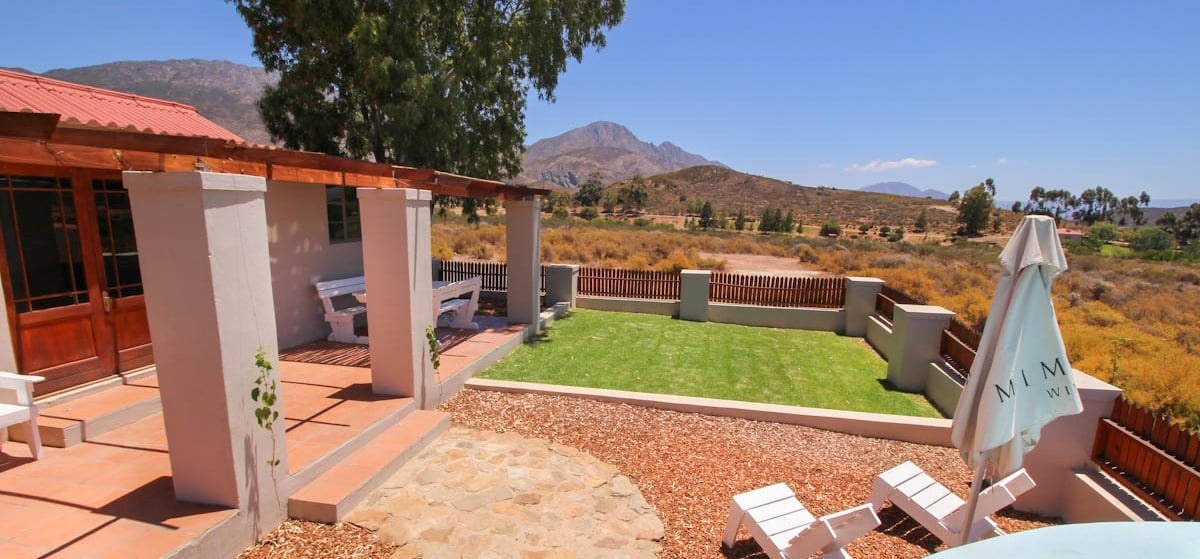 Overnight Cottage Break For Two in Montagu Western Cape-2