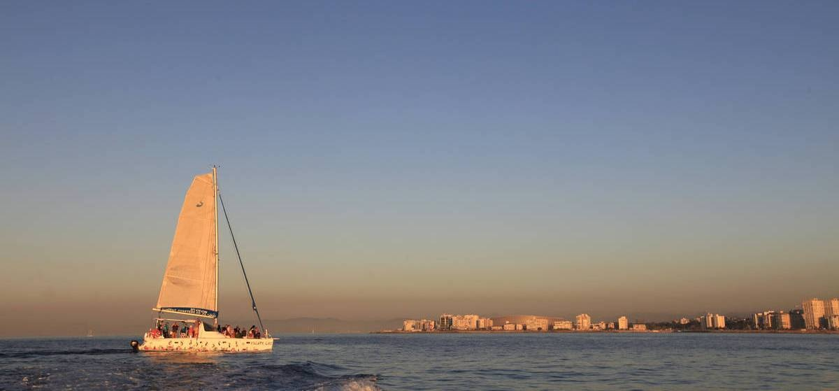 Sunset Catamaran Cruise and Dinner in Cape Town-2