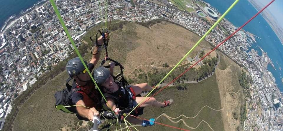 Tandem Paragliding Experience in Cape Town-5