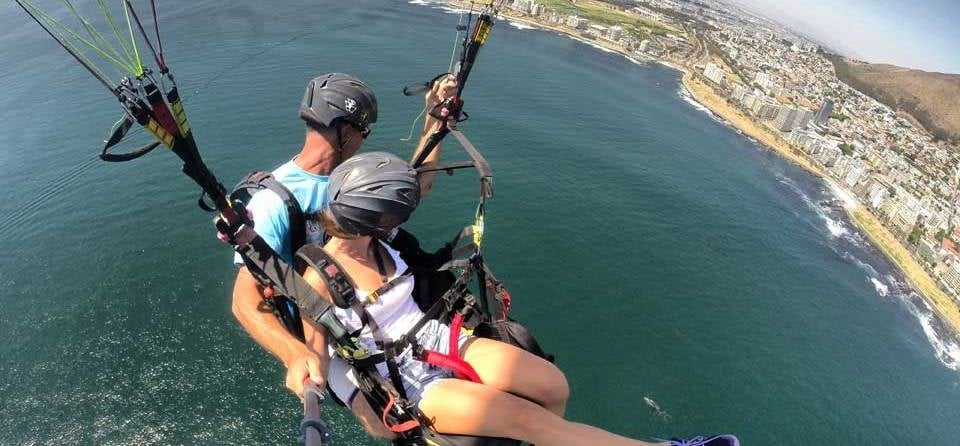 Tandem Paragliding Experience in Cape Town-7
