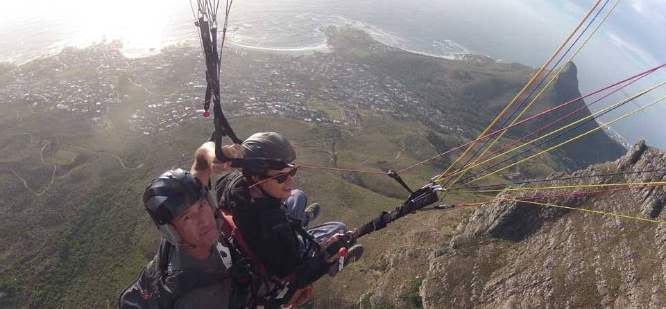 Tandem Paragliding Experience in Cape Town-8