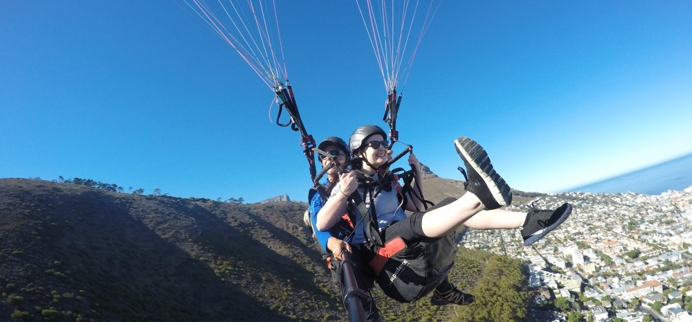Tandem Paragliding Experience in Cape Town-3