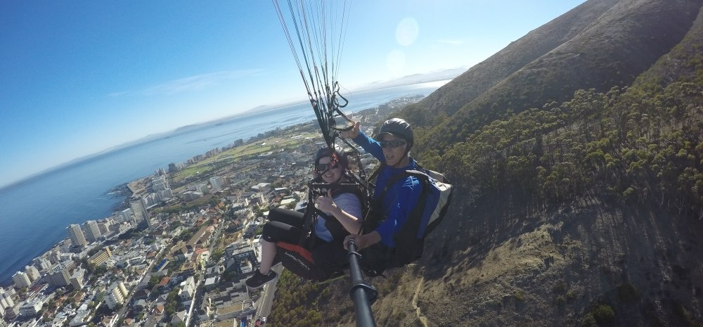 Tandem Paragliding Experience in Cape Town-2