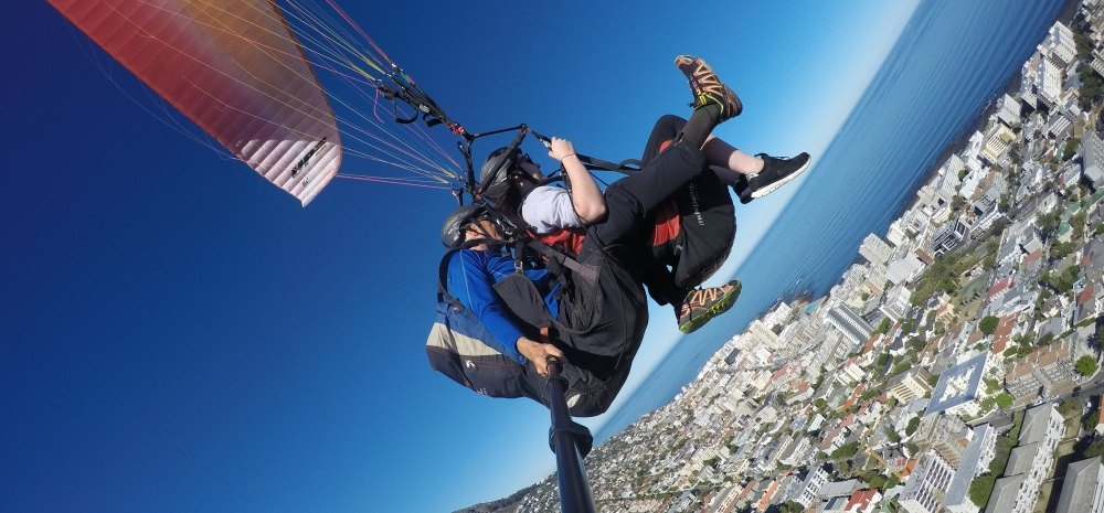 Tandem Paragliding Experience in Cape Town-1